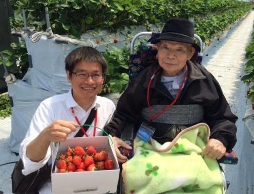たくさんイチゴも採れました
