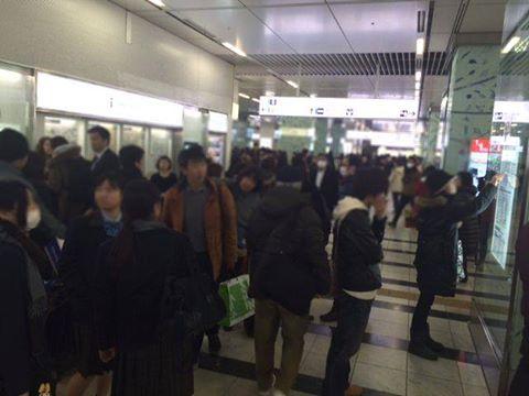 博多駅のコンコース