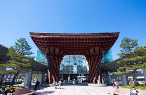有名な金沢駅