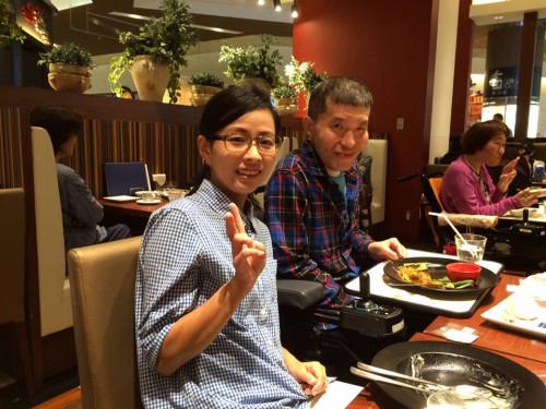 筑紫野イオンでご昼食