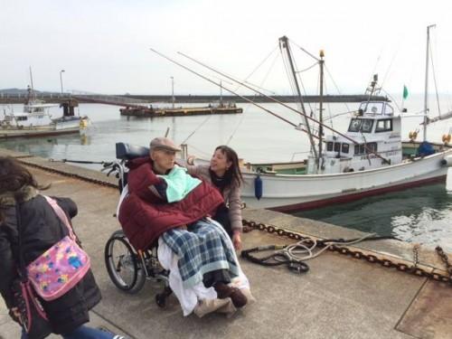 志賀島の漁港