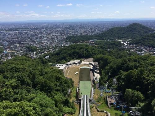 大倉山のスキージャンプ台